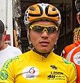 Jonathan Caicedo en la etapa 2 de la Vuelta de la Juventud 2015.jpg