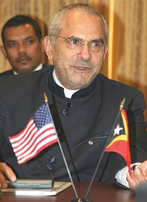 Enlargement of the Association of Southeast Asian Nations - José Ramos-Horta hoped East Timor could join ASEAN before 2012
