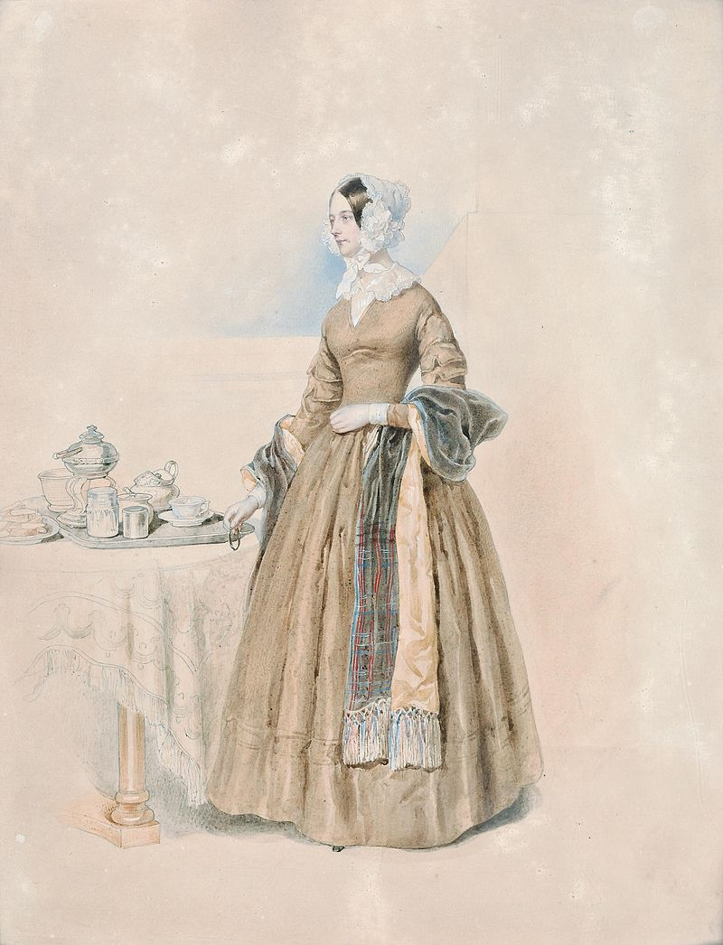 Josef Kriehuber Portrait Fürstin Leopoldine Karoline Palffy.jpg