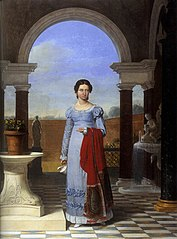 Portrait of Colette Versavel, Wife of Isaac J. de Meyer