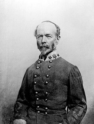 CS General Joseph E. Johnston wearing the 3 st...