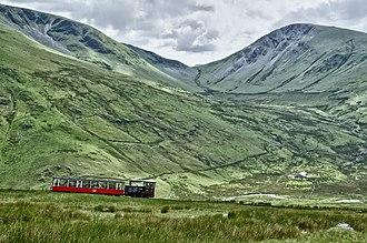 Snowdon Mountain Railway - Snowdon Mountain Railway in June 2012
