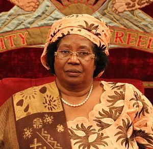 Joyce Banda - Joyce Banda in 2012