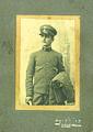 Juan De Salvo -luego mas conocido como Juan Desalvo- Buenos Aires, 23-6-1882 - 3-8-1949. Foto hacia 1902 como soldado del Regimiento 3 de Infantería.jpg