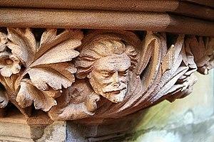 English: Judas Iscariot The face of Judas Isca...