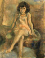 JulesPascin-1927-Sitting Girl.png