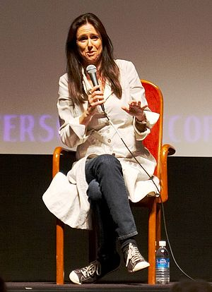 Julie Taymor - Taymor speaking at the Toronto International Film Festival in September 2007