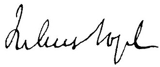 Julius Vogel - Image: Julius Vogel Signature