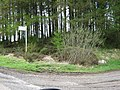 Junction on an unclassified road. - geograph.org.uk - 1362555.jpg