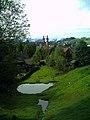 June Grüne Hölle Bergwälder St. Peter Town and catholic Abbey Glottertal - Mythos Black Forest Photography 2013 green mountain forest - panoramio.jpg