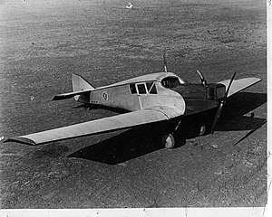 Meopham air disaster - A Junkers F.13, similar to the accident aircraft