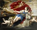 Jupiter in the shape of a bull carrying off Europa by Francesco Albani.jpg