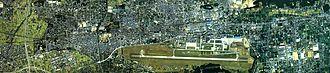 Kakamigahara, Gifu - Image: Kakamigahara city center area Aerial photograph.1987