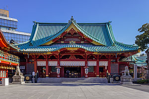 Kanda Shrine - The Kanda Shrine honden