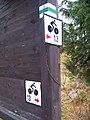 Karlovský most, polské značky.jpg