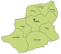 Kars Province Subdivisions.png
