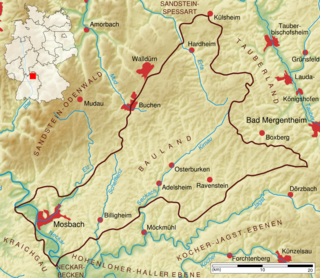 Bauland Landschaft Wikipedia