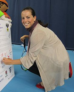 Katie O'Brien signing Sports Charter crop.jpg