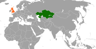 Diplomatic relations between the Republic of Kazakhstan and the United Kingdom of Great Britain and Northern Ireland