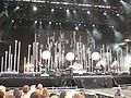 Keane's stage at the Isle of Wight Festival 2007.JPG
