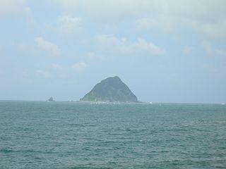 island in Zhongzheng District, Taiwan