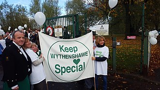 University Hospital of South Manchester NHS Foundation Trust - Keep Wythenshawe Special campaign