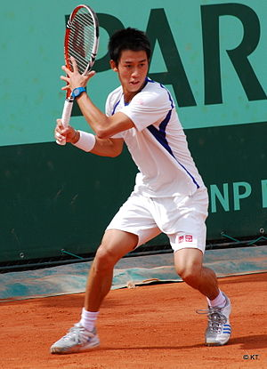 Kei Nishikori - Nishikori at the 2011 French Open.