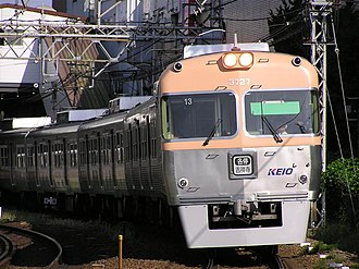 Keio Inokashira Line - Image: Keio 3727F