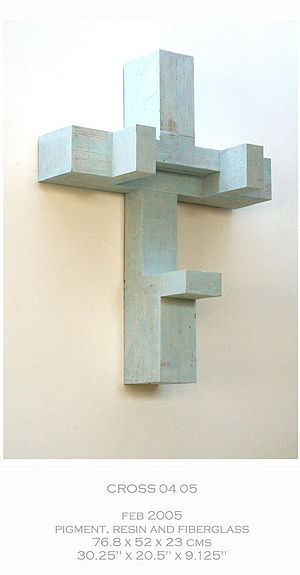 Keith Milow - Image: Keith Milow cross