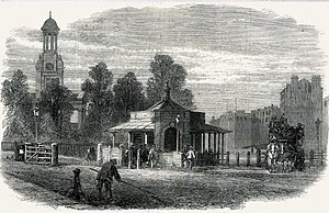 George Robey - Kennington Road in 1865