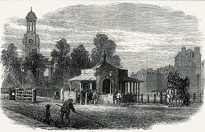 George Robey - Kennington Road in 1865