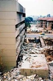 Aug. 7: Nairobi Embassy bombing. Kenya bombing 1.jpg