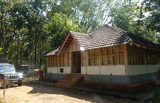 Chikmagalur district - British forest bungalow at Bhadra Wildlife sanctuary