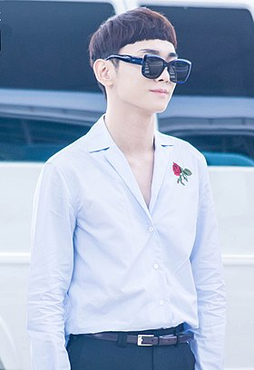 Key at Incheon Airport in July 2016 01.jpg
