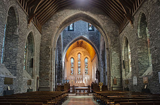 Kildare Cathedral - Image: Kildare Cathedral Nave and Choir 2013 09 04