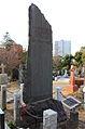 Kim Ok-gyun in the Aoyama Cemetery Tokyo.JPG