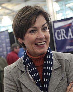 Governor of Iowa Chief executive of the U.S. state of Iowa