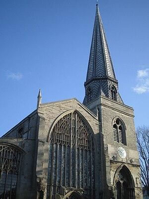 Chapel of ease - St Nicholas' Chapel in King's Lynn, England's largest chapel of ease