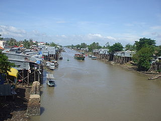 Vĩnh Tế Canal canal in southern Vietnam