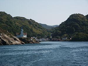 Kirkehavn on Hidra, Vest-Agder, Norway