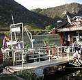 Klabautermann foot and bike ferry over the Moselle river, Burgen, Germany - panoramio.jpg