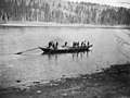 Klondikers poling a York boat up the Peace River, Alberta, ca 1899. Courtesy of Glenbow Archives.jpg