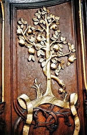 English: Bronnbach Abbey. Choir stalls by Dani...