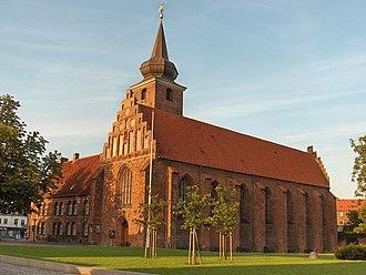 Nykøbing Falster - The Klosterkirken, Nykøbing Falster