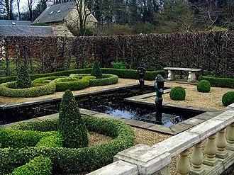 Exton, Rutland - Image: Knot Garden at Barnsdale Gardens geograph.org.uk 1204585