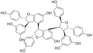 Kobophenol A - Image: Kobophenol A