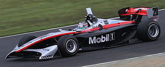 Kohei Hirate - Hirate during free practice for the first Motegi round of the 2010 Formula Nippon season.