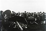 Kolbányi lezuhant repülőgépének roncsa fortepan 132484.jpg