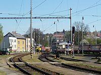 Koleje na Pardubice v Havlíčkově Brodě.JPG