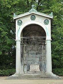 Denkmal zur Erinnerung des Aachener Kongresses (Quelle: Wikimedia)